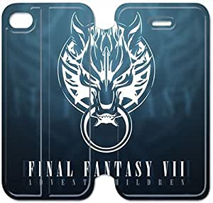 Leather Smart Cover With Flip Stand Phone Case iphone 5 5s-Final fantasy-31