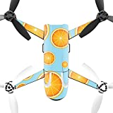 MightySkins Protective Vinyl Skin Decal for Parrot Bebop 2 Quadcopter Drone wrap cover sticker skins Orange Slices
