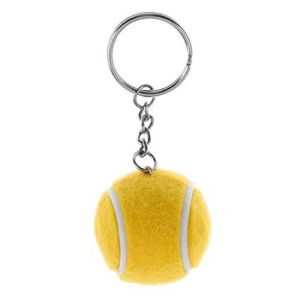 Sharplace Llavero de Pelota Bola de Tenis de Metal para ...
