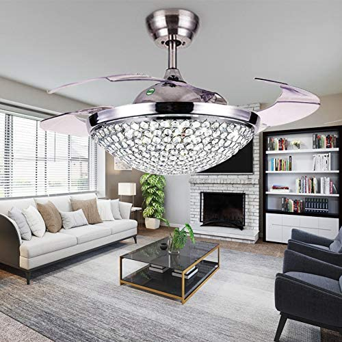 A Million 42 Crystal Ceiling Fan Light