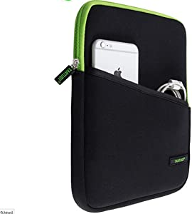 Shockproof Neoprene 9.7-10.1 inch Tablet Sleeve Case Cover Pouch for iPad 9.7-inch, iPad Air/Air 2,Samsung Galaxy Tab A 9.7,Tab S3/ S2 9.7, Microsoft Surface Go 10,Voyo i8 9.7, ZenPad 3S -Green
