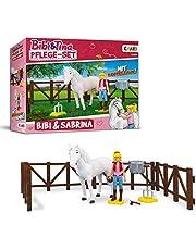 Craze Tina BIBI & Tina verzorging paardenfiguren paardenfiguren speelfiguren Bibi en paard Sabrina incl. accessoires, Meerkleurig