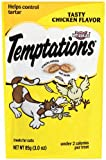 Whiskas 12-Pack Temptations Hearty Beef Flavour Treats for Cats, 3-Ounce, My Pet Supplies