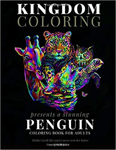 A PENGUIN COLORING BOOK FOR ADULTS