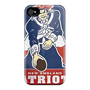 New Fvt10656JThh New England Patriots Skin Shatterproof Cases Diy For Touch 4 Case Cover