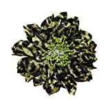 Webb Direct 2U Girls Versatile 3 in 1 Leopard Print Layer Flower Clip Hair Bow