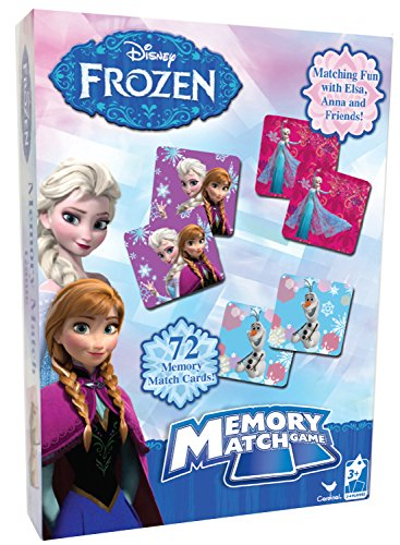 Frozen Disney Memory Match Game Styles Will Vary
