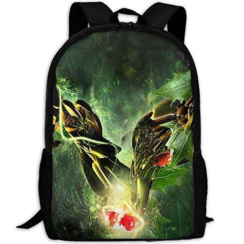Markui Adult Travel Hiking Laptop Backpack Tree Artwork Design School Multipurpose Durable Daypacks Zipper Bags Fashion by Markui