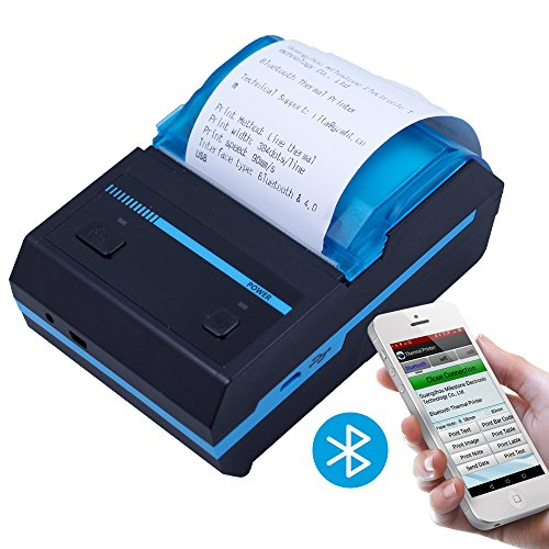 Portable Printer With Battery - 9