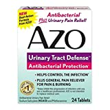 AZO Urinary Tract Defense, Antibacterial Protection, 24 Count