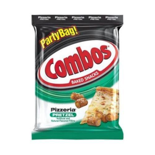 Combos Pizzeria Pretzel Baked Snacks, 15 Ounce - 8 per case.