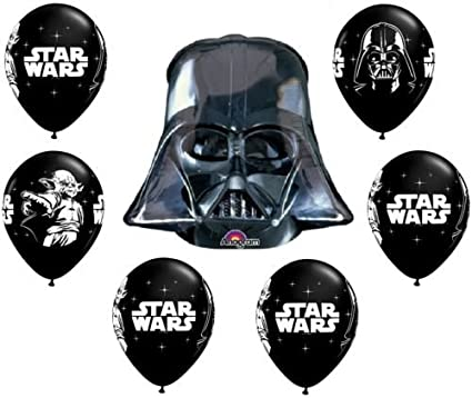 Amazon.com: loonballoon Star Wars Darth Vader Movie (7 ...