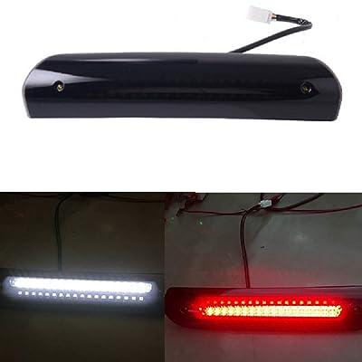 SOYAVISION LED Smoke 3rd Brake Lights High Mount Stop Lamp For 2004-2009 Dodge Ram 1500 2500 3500 Third Brake Cargo Tail Lamp: Automotive