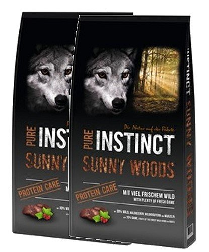 Schock´s PURE INSTINCT Sunny Woods mit Wild Protein Care 2x12kg