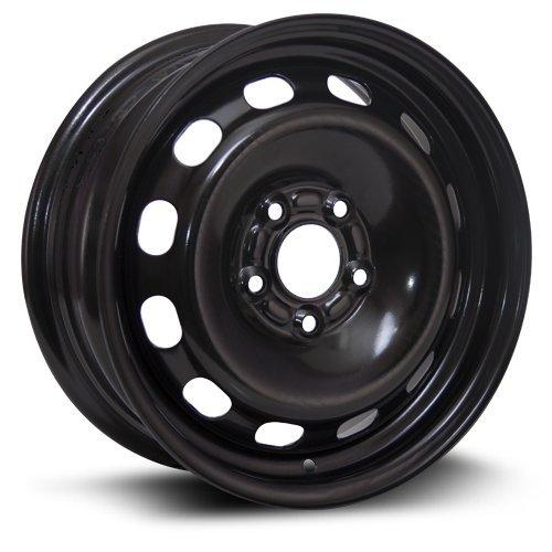 RTX, Steel Rim, New Aftermarket Wheel, 15X6, 5X108, 63.4, 42, black finish X45108 from RTX