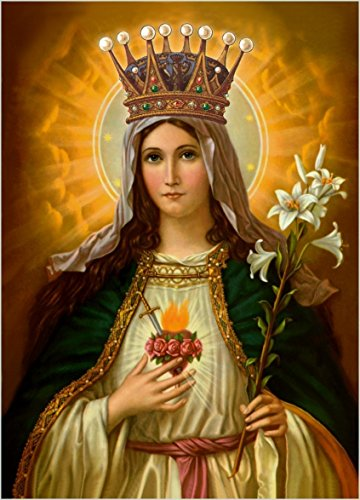 Holy Virgin Mary Icon - 9