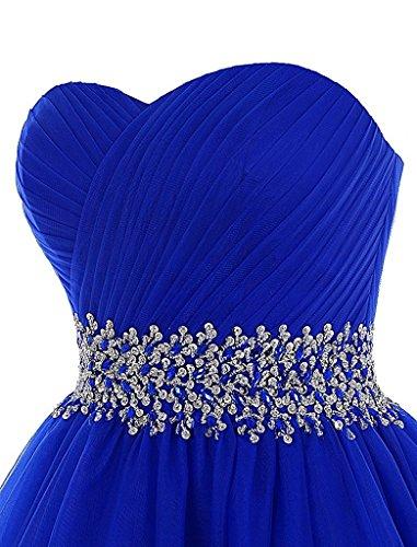 Noche de Mujer Homecoming Vestido Vestido de cóctel Fiesta Tul JAEDEN de Corto Vestido Vestido de Azul Tirantes Marino Sin RqwvBf