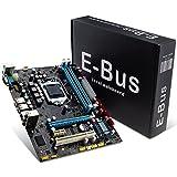 INTEL P55 Motherboard(Socket LGA1156, Chipset P55, DDR3, 2 Dimms 16GB,CROSSFIRE/SLI, Micro ATX) - Black
