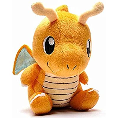 "Dragonite Baby 6"" Stuffed Plush Toy: Toys & Games"