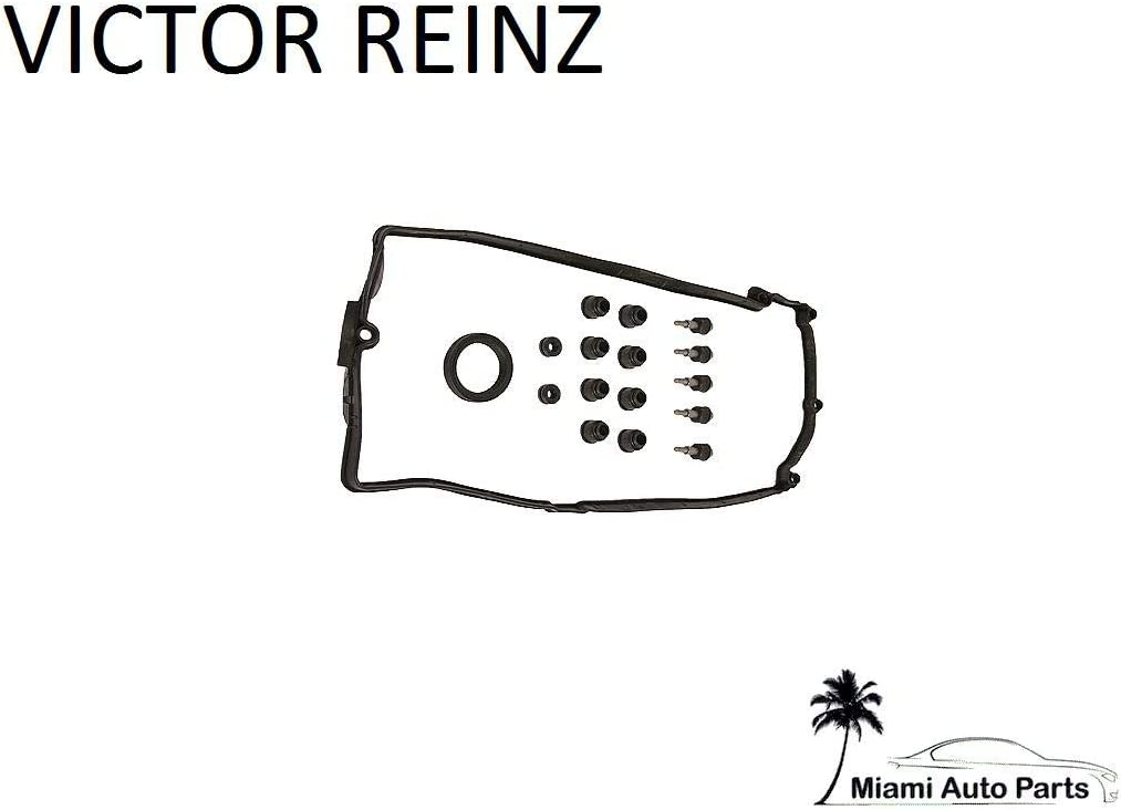 For 2005-2006 Audi A6 Quattro Valve Cover Gasket Set Right Victor Reinz 38291QN