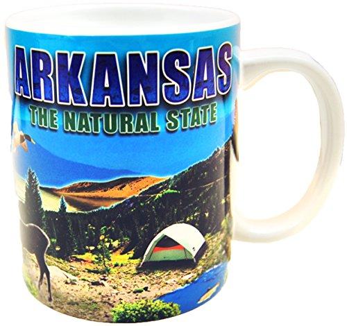 State of Arkansas Scenic Photo Printed Mug
