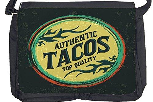 Borsa Tracolla Nostalgico Divertimento Tacos Stampato