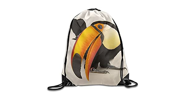 Drawstring Backpack Toucans Gym Bag