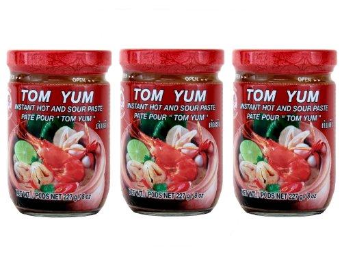 Cock - Tom Yum Paste - 3er Pack (3 x 227g) - Original Thai