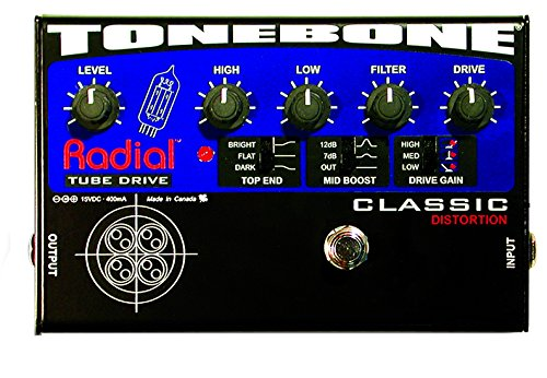 UPC 676101034130, Radial Tonebone Classic Tube Distortion Pedal