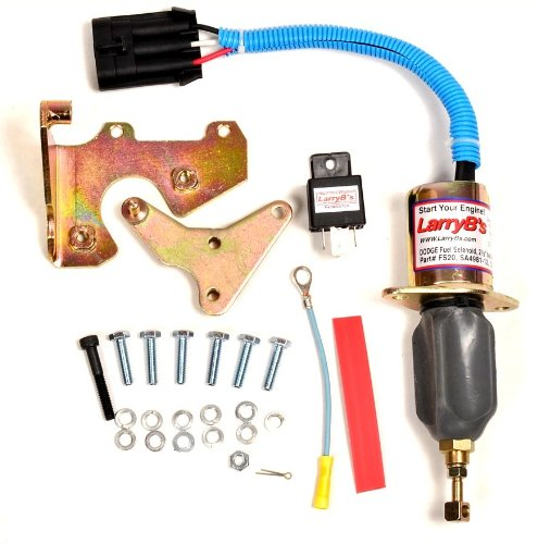 LarryB's 94-98 Dodge Diesel Fuel Shut Off Solenoid Mechanics Complete FIX KIT LarryB' s