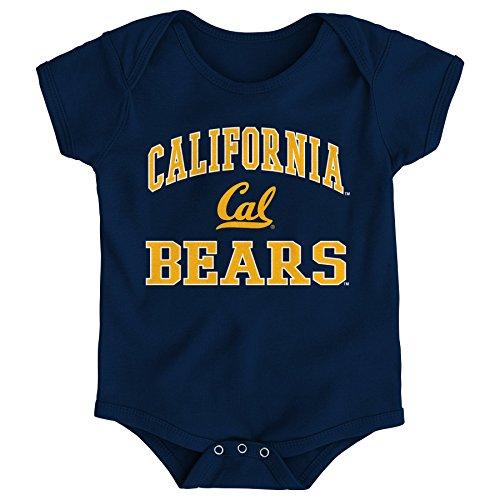 (NCAA California Golden Bears Newborn & Infant Primary Logo Bodysuit, 12 Months, Dark Navy)