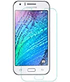 Samsung Galaxy J1 - Tempered Glass Screen Protector with [2.5D Round Edge] [9H Hardness] [Crystal Clear] [Scratch-Resistant] [No-Bubble]