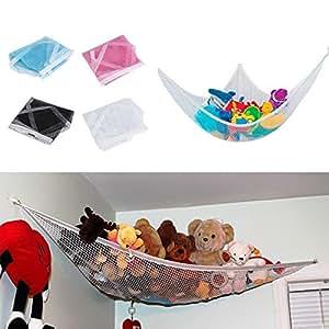 Para habitaciones de niños Juguetes animales de peluche Juguetes Hamaca neta Organizar almacenamiento de titular Interesante decoración del hogar