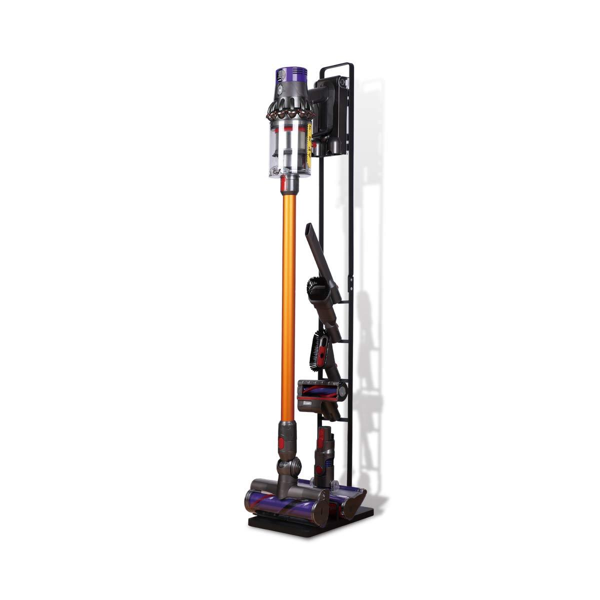 LANMU Storage Bracket Organizer Stand Holder Compatible with Dyson V6 V7 V8 V10 DC30 DC31 DC34 DC35 DC58 DC59 DC62 DC74 Cordless Vacuum Cleaners