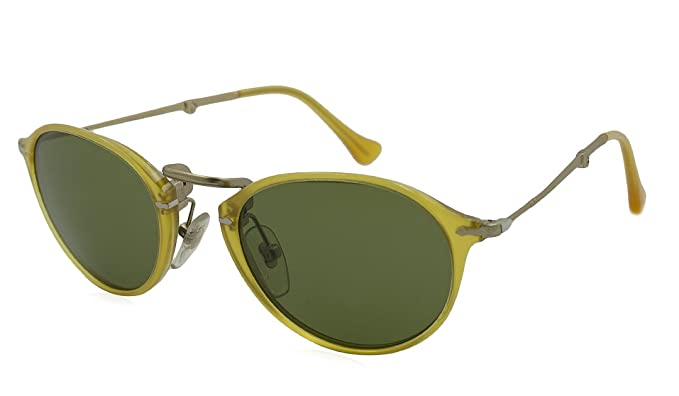 Amazon.com: Persol 0po3075s Oval anteojos de sol polarizadas ...