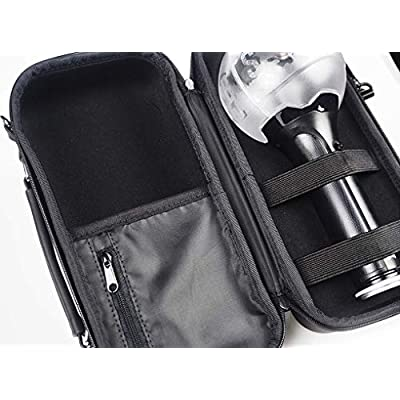 BTS Army Bomb Carrying Case Bag Adjustable Strap and Fixed Handle for Concert and Indoor Keeping. This Item is not Included Army Bomb.: Toys & Games