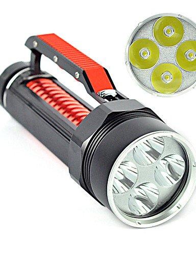 LT 2Modus 6000Lumen LED Taschenlampen 18650Wasserdicht/wiederaufladbar/Impact LED-CREE XM-L2