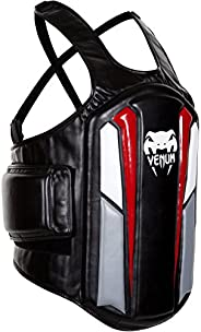 Venum Elite Body Protector, Black/Ice/Red