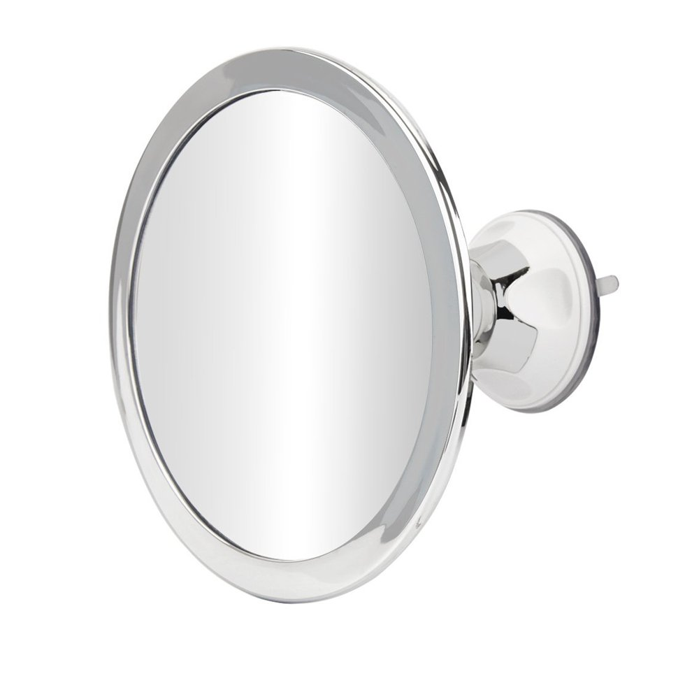 Fogless Shower Mirror for Shaving - No Fog Chrome Bathroom Mirror by ...