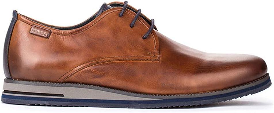 TALLA 42 EU. Pikolinos Leon M9h, Zapatos de Cordones Oxford para Hombre