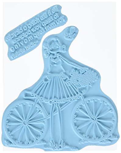 stamping-bella-uptown-girl-flora-her-bicycle-cling-rubber-stamp-65-x-45