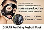 Blackhead Remover Mask, Black Peel off Mask, Purifying Acne Face Peel Off Black Mud Mask (1)
