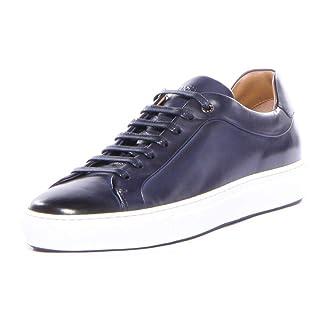 BOSS HUGO BOSS Men's Sneaker, Dark Blue, 7 M US