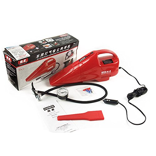 HITSAN Coido 6022 12V 55W Multi-function Car Vacuum Cleaner Red One Piece by HITSAN (Image #7)