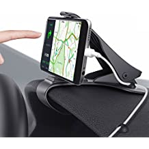 Car Phone Holder, MWAY Car Mount HUD Design with Cable Clips, No Blocking for Sight, Durable Dashboard Cell Phone Holder for iPhone 7/7Plus/6/6S Plus/Samsung, HuaWei, 3.5-6.5 Inches Smartphones