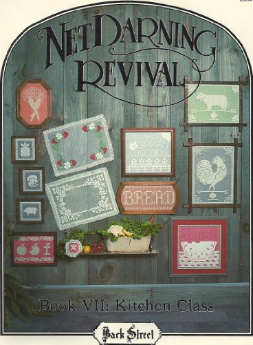 (Net Darning Revival: Book VIII, Army-Navy Tablecloth)