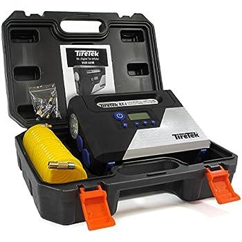 TireTek RX-i Digital Tire Inflator Pump - 12V Portable Air Compressor With Auto Cut-Off