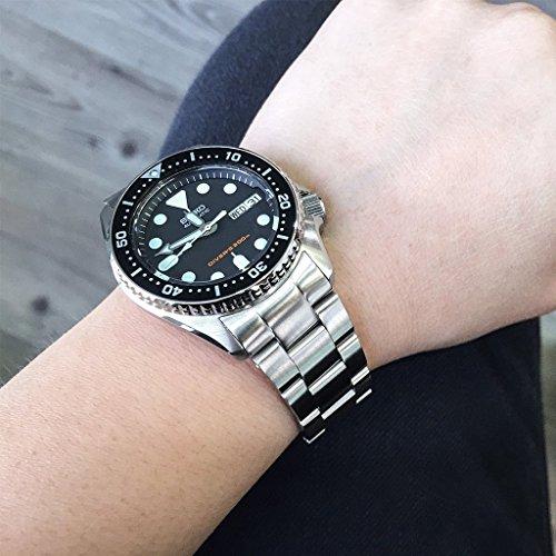 20mm Super Oyster Watch Bracelet For Seiko Skx013 Brushed