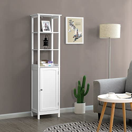 home, kitchen, furniture, accent furniture,  storage cabinets 7 on sale VASAGLE Floor Cabinet, Multifunctional Bathroom Storage Cabinet with in USA