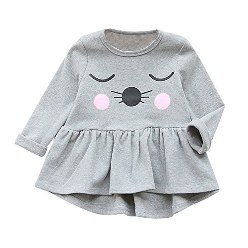 Solid Color Child Unisex T-Shirt Gray - 4